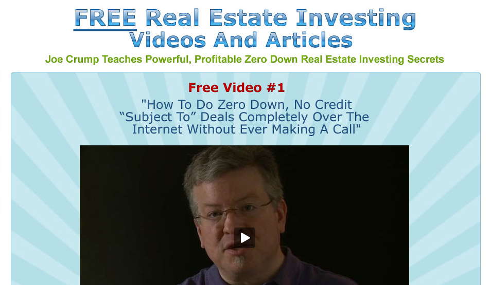 crump real estate investing review