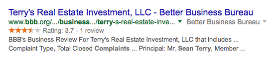 sean terry real estate scam, rea estate investing